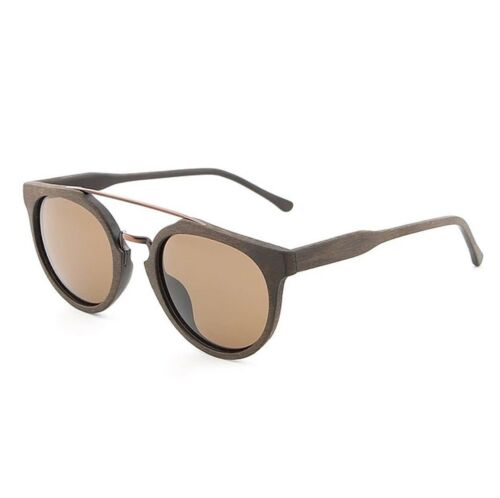 Umwelt Holzbrille Sonnenbrille Herren Damen Sunglasses Vintage Wooden Holz Retro
