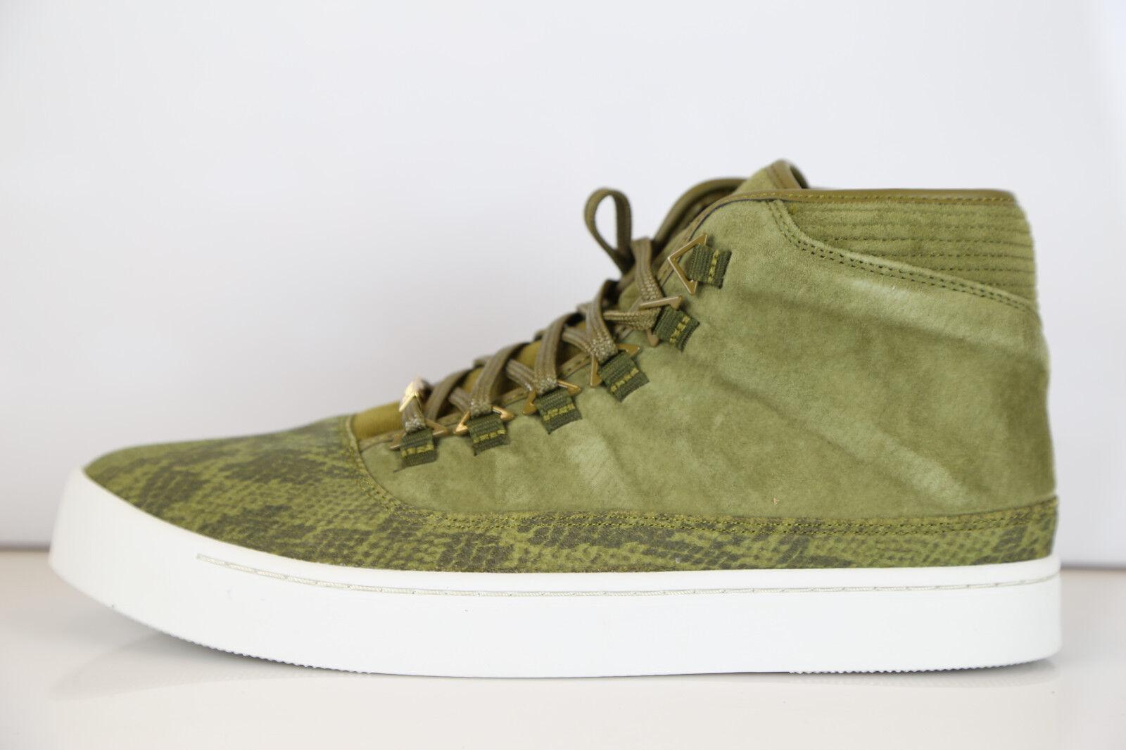 Nike Air Jordan Westbrook Militia verde Gold 1 768934-305 7-13 snakeskin 1 Gold 11 3 6 978e86