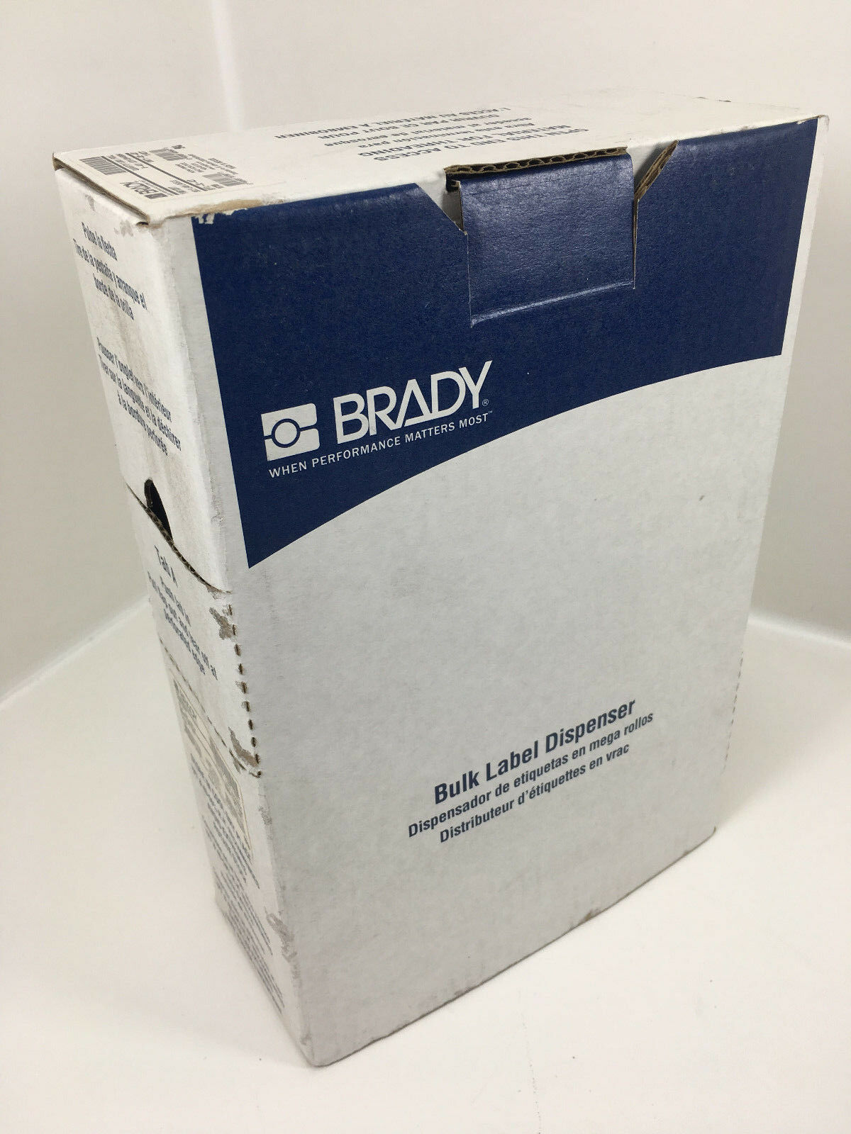 Brady Bulk Label Dispenser Self-Laminating BPTL-32-427 BMP71 TLS220 1000   Roll
