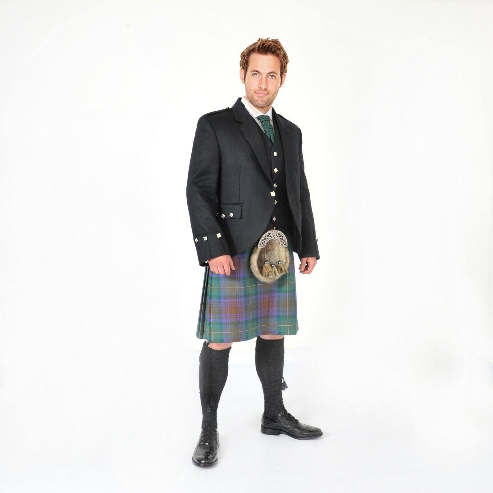 Isle of Skye 8 Yard Scottish Full Highland Dress 24