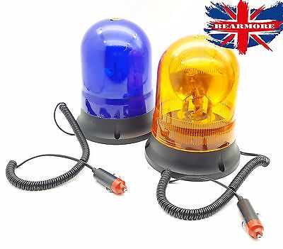 Tractor Flashing Xenon Magnetic Beacon 12-24V John Deere Massey Case New Holland