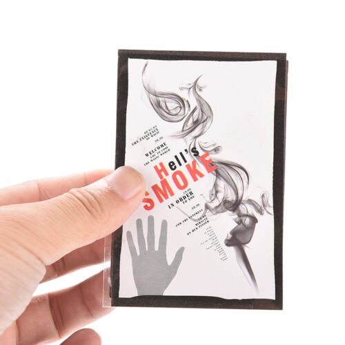 5x New Magic Smoke aus Fingerspitzen Zaubertrick Überraschung Streich  WRDE