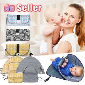 Waterproof-Baby-Diaper-Changing-Mat-Travel-Home-Change-Pad-3-in-1-Organizer-Bag