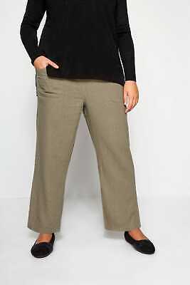 Yours Clothing Women/'s Plus Size Black Aztec Shorts