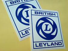 British Leyland Caja Cuadrada Estilo Clásico coche Retro Stickers Calcomanías 2 Off 100mm