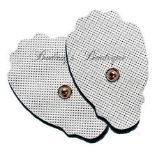 **w/ BONUS!** Replacement Electrode Pads - Large (4) for AURAWAVE Massager/TENS