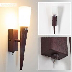 Flur Dielen Strahler Vintage Wand Leuchten Schalter Wohn Schlaf Zimmer Lampen