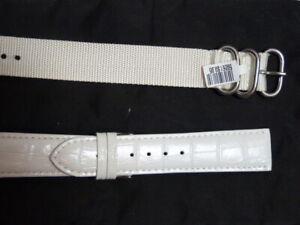 NEW* Dakota leather watch band+ FREE nylon watch band
