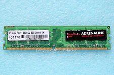 One >> 4GB PC2-6400 DDR2 800 Non ECC 240 Pin By VISIONTEK > Desktop Memory