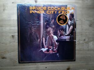 Bruce-Cockburn-Inner-City-Front-Very-Good-Vinyl-Record-TN-47-amp-Insert