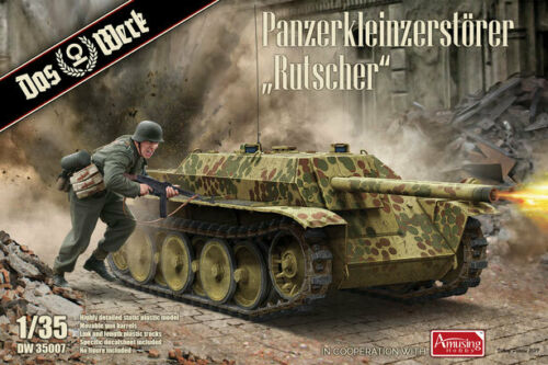 Panzerkleinzerstörer Rutscher Das Werk 1:35