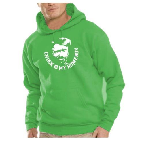 Kapuzen Sweatshirt Chuck Is My Homeboy Pullover Langarm Hoodie Style Mode Pulli