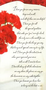 Love & Romance Only One In The World For Me Red Roses Hallmark ...