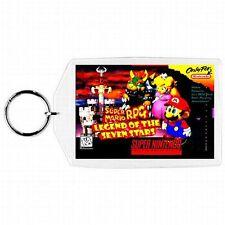 Super Nintendo Snes SUPER MARIO RPG LEGEND SEVEN STARS Game Box Cover Keychain