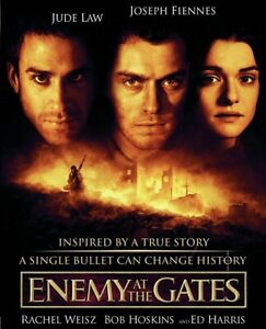 35mm-Feature-Film-ENEMY-AT-THE-GATES-2001-WWII-Movie-JUDE-LAW-Ed-Harris