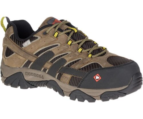 Merrell Newest Men/'s J15773 Moab 2 Composite Toe Waterproof Safety Work Shoes