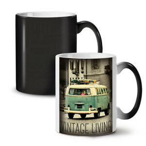 Truck Life Old Vintage NEW Colour Changing Tea Coffee Mug 11 oz | Wellcoda