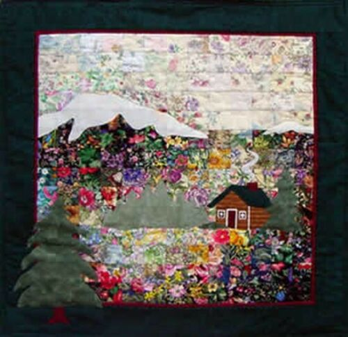 Brand New Whims Watercolor Quilt Kit Complete kit The Cabin