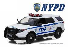 GREENLIGHT 1/18 2015 FORD POLICE INTERCEPTOR UTILITY NEW YORK CITY NYPD 12973