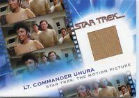 2007 RITTENHOUSE THE COMPLETE STAR TREK MOVIES LT COMMANDER UHURA MC9