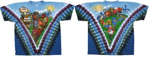 Dancing Bears M Grateful Dead Casey Jones T-Shirt Riding That Train XL XXL