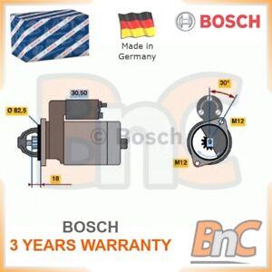 Humble # Authentique Bosch Heavy Duty Starter Vw Audi Skoda Multicar-afficher Le Titre D'origine