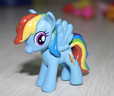 HASBRO MY LITTLE PONY FRIENDSHIP IS MAGIC Rainbow Dash figure ABCD32
