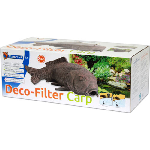 SUPERFISH DECO-FILTER CARP Karpfen Dekoration Teichfilter Teichfigur Teich
