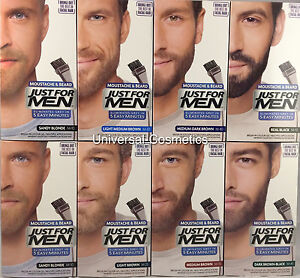 Just-For-Men-Colour-Dye-Gel-Moustache-and-Beard-GENUINE-FREE-DELIVERY