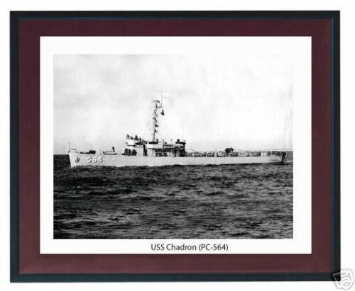 USS Chadron PC 564  USN Navy Ship print