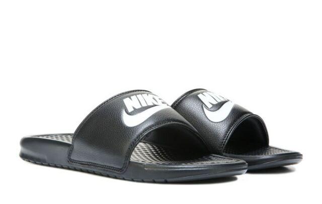 VANS Navy Blue Slides Men's 10 Sandals