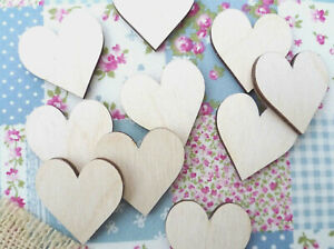 Wooden-Hearts-Plywood-Heart-Shapes-Heart-Embellishments-Love-Hearts-30mm