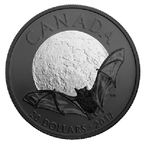 2017-Nocturnal-by-Nature-Little-Brown-Bat-20-Fine-Silver-Coin