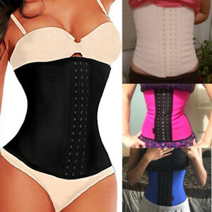 ab5380b1cd Image is loading Fajas-Colombianas-Shapewear-LATEX-Waist-Trainer-Cincher -Corset-