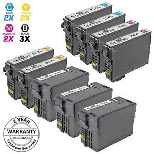LD 9Pk Reman Cartridges for Epson Ink 252 XL WorkForce WF-3620 WF-3640 WF-7110