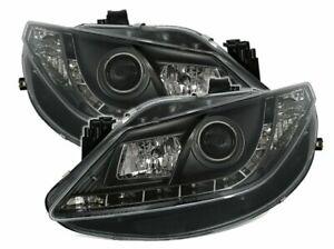 Ajovalot-LED-DRL-ETSI-Seat-Ibiza-6J-08-12-luz-negro-LHD-lpse-18EP-XINO