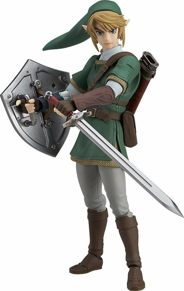 The Legend of Zelda Twilight Princess Link Deluxe Version Figma Figure