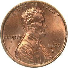 1977-D Lincoln Memorial Cent Uncirculated BU Red Penny Nice No Problem Coin