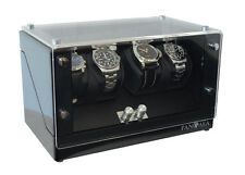 Pangaea Quad Four Automatic Battery Power 4 Watch Winder Japanese Mabuchi Motor