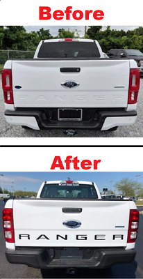 Tailgate Insert Decals Black Letters Stickers For Ford