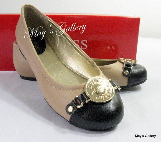 GUESS Jeans shoes Flat Flats Heel Flip Flops Sandals Flop shoe Ballet NIB 7.5