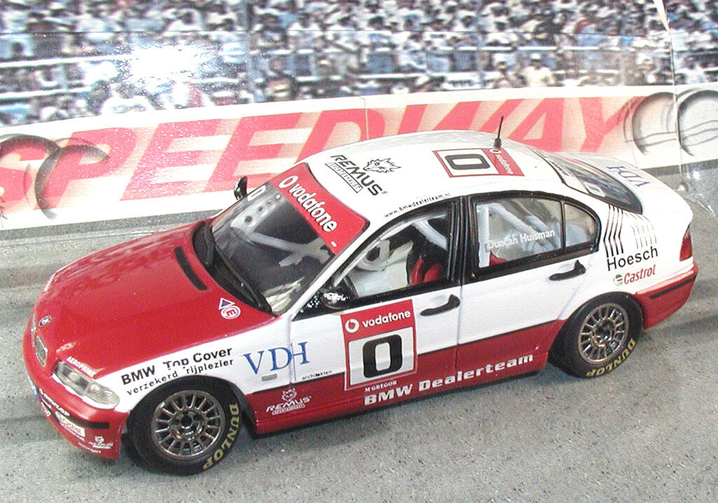 BMW 320i DUTCH CHAMPION 2002 DUNCAN HUISMAN - 1 43 SPARK - EXTREMELY DETAILED