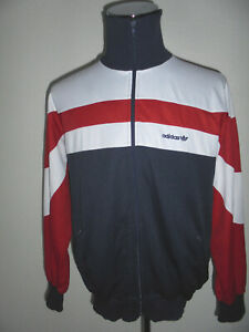 vintage-german-70er-Jahre-ADIDAS-Trainingsjacke-Sportjacke-oldschool-Jacke-D54-L