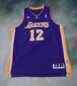 8068e558576 Adidas NBA Los Angeles Lakers Dwight Howard #12 Jersey Size XL.   eBay