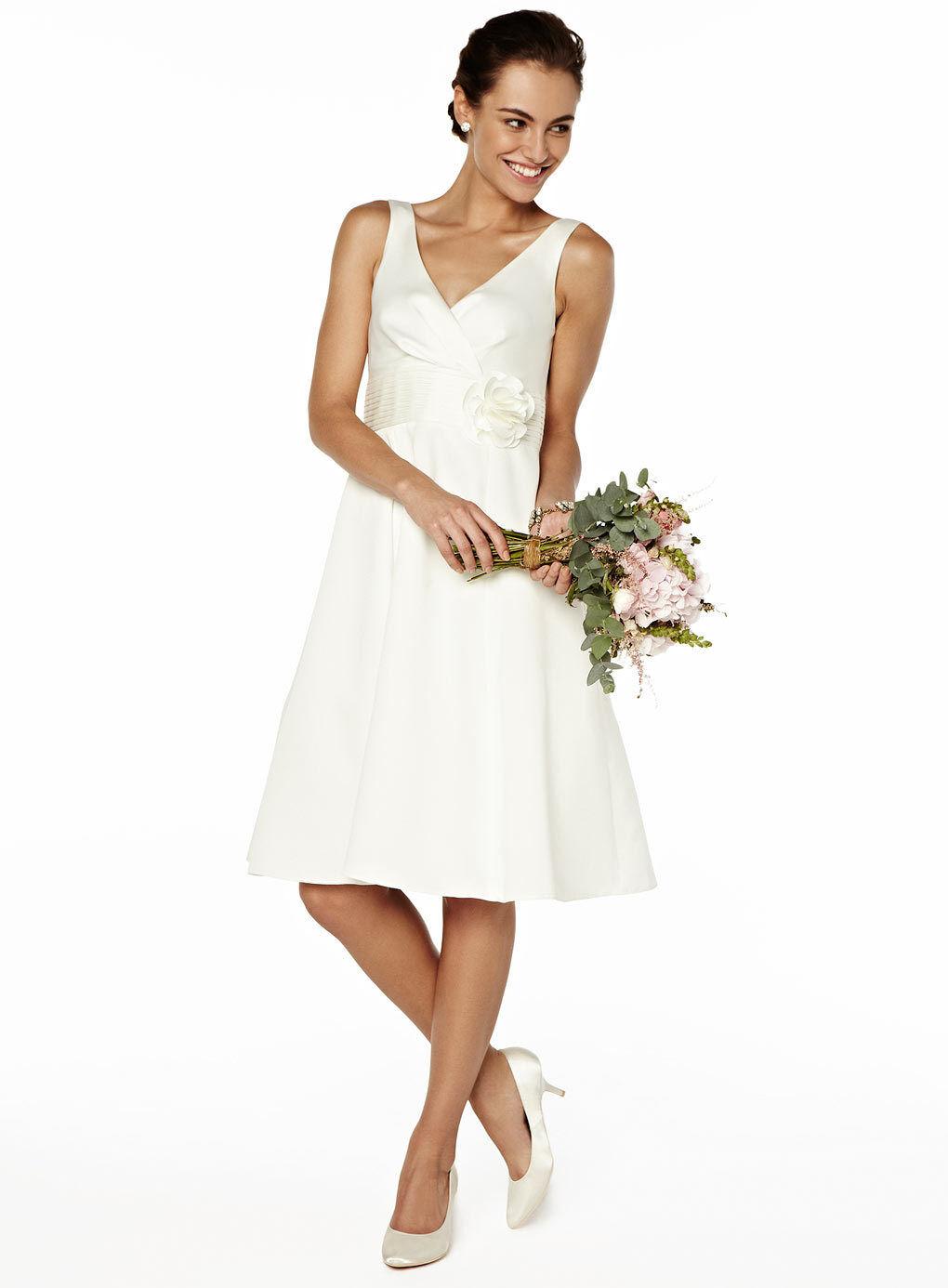 BHS Bridesmaid/Wedding Dress Rose Ivory Size 8/10