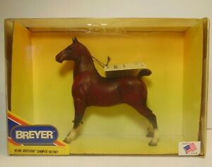 Vintage-1995-BREYER-Aristocrat-Champion-Hackney-Horse-496-In-Box-Kitty-Cantrell