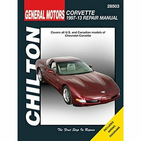 All Models 4 Vol Set 2013 Chevrolet Corvette Factory Service Repair Shop Manual