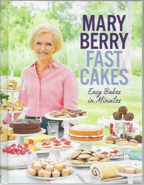 SIGNED MARY BERRY FAST CAKES EASY BAKES IN MINUTES NEW FIRST ED HARDBACK