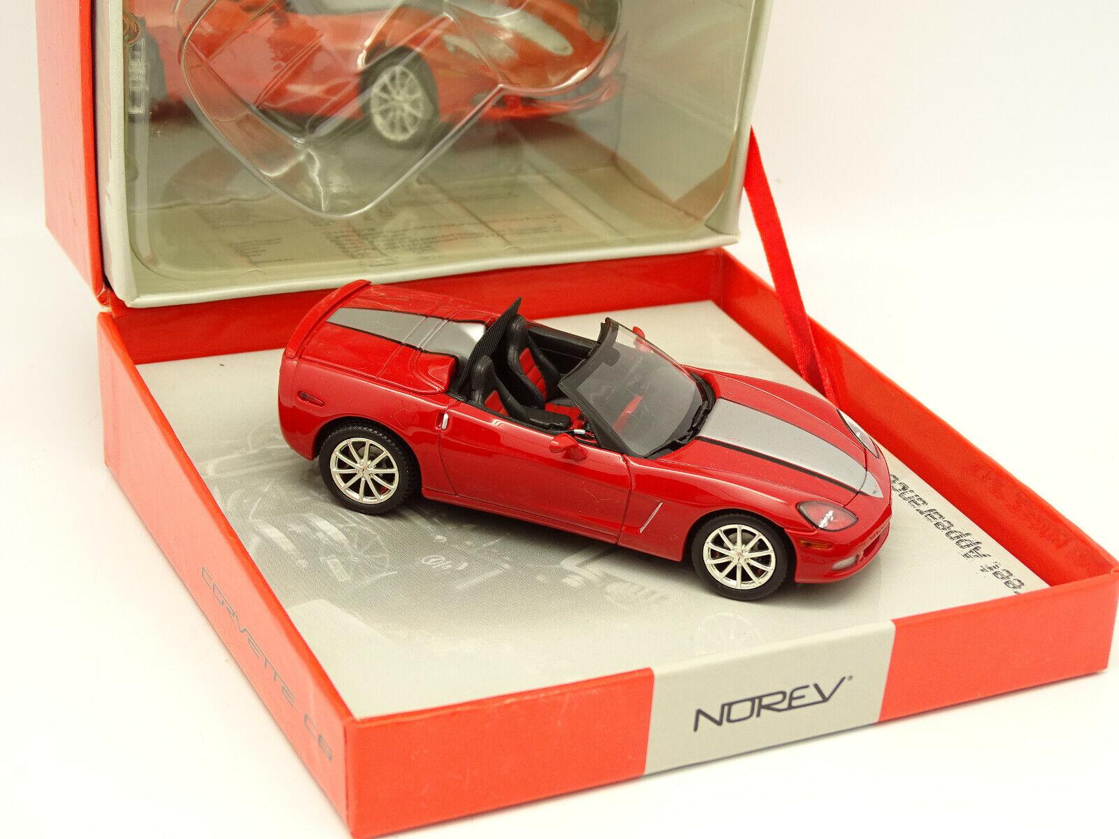 prezzi più bassi Norev 1 43 - Chevrolet Corvette Corvette Corvette Cabrio Rosso Street Aspetto  prezzi equi