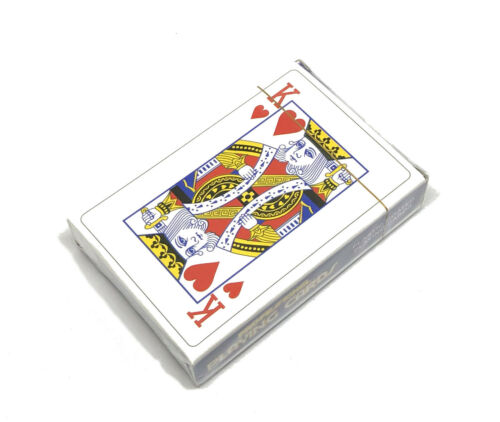 PROFESSIONAL PLASTIC COATED PLAYING CARDS FAMILY CARD GAMES POKER DECK OF CARDS